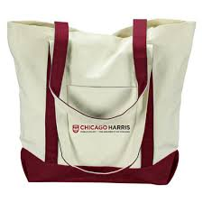 Uchicago Barnes And Noble University Of Chicago Bookstore Chicago Harris Tote Bag