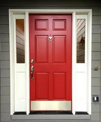 front doors front door inspirations dark red paint color front
