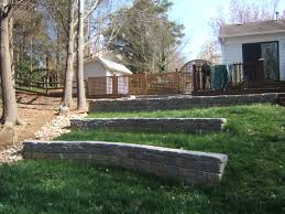 Backyard Retaining Wall Ideas Parents Wanted A Retaining Wall So I Decided To Try And Landscape