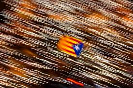 Flag Of Catalonia Spanish Pm Urges Catalans To Defeat Separatists At Polls Boston