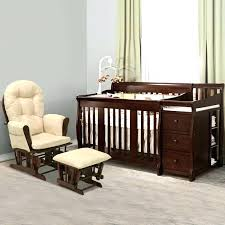 Baby Relax Glider And Ottoman Espresso Extraordinary Nursery Glider With Ottoman Rocker Recliner For