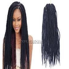 human hair used to do senegalese twist 6pack lot kinky twist braids senegalese twist hair extesnion