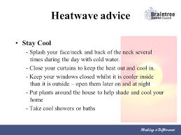 Curtains To Keep Heat Out Heatwave Advice Looking After Yourself In Weather U2026 Ppt