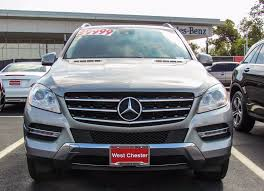 mercedes 2014 suv stock w2812p certified pre owned 2014 mercedes m class ml