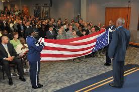 Flag Folding Ceremony Jolly Caps Stellar Career Again U003e 25th Air Force U003e Article Display