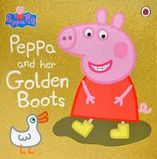 peppa pig peppa golden boots