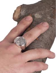 large mens rings images Large mens chevalier greek god apollo coin ring in sterling silver jpg