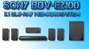 sony home theater with bluetooth sony bdv e2100 5 1 blu ray heimkinosystem 1000 watt 3d w lan