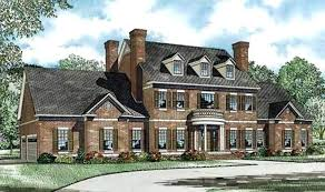 colonial home plans and floor plans colonial house plans a front elevation of colonial home house plan