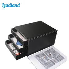 classeur bureau 3 tiroir pu en cuir classeur bureau document fichier organisateur