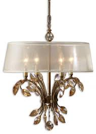 crystal l shade chandelier 24 best drum shade chandeliers images on pinterest drum shade