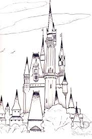 cinderella castle coloring pages download free printable
