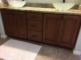 bathroom cabinet painting in bountiful rocky mountain painters
