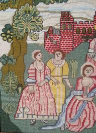 moses reproduction sampler the scarlet letter