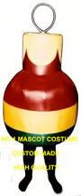 christmas ornament mascot costume wholesale high quality cartoon
