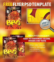 bbq psd flyer template free download 7919 styleflyers