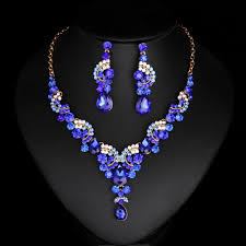 new fashion gold necklace images Stunning american style ad ruby necklace earrings indian gold jpg