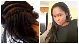 hair for crochet weave realistic weave with crochet braids using kanekalon hair youtube