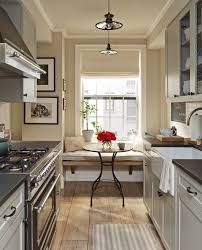 Bright Kitchen Galley Normabudden Com Small Kitchen Kitchen Nook Normabudden Com