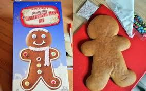 Cookie Decorating Kits Trader Joe U0027s Really Big Gingerbread Man Kit Reviewed Baking Bites