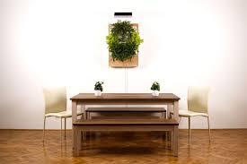Urban Wall Garden - herbert a smart hydroponic wall garden for urban spaces