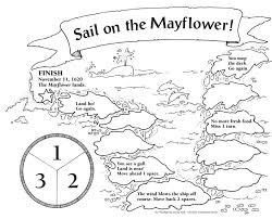 scholastic mayflower field trip coloring coloring page