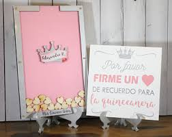 quinceanera guest book crown guest book etsy