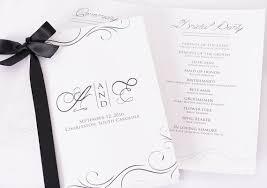 personalized wedding programs custom wedding programs beautiful printed wedding books
