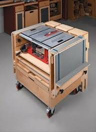 how to build a table saw workstation table saw station album woodworking and bench