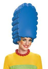 halloween city wigs marge simpson foam wig escapade uk