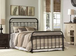 laurel foundry modern farmhouse harlow metal panel bed u0026 reviews