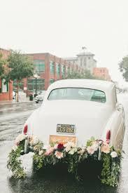 getaway wedding cars wedding getaway car decorations