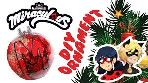 miraculous ladybug and cat noir ornaments diy crafts projects