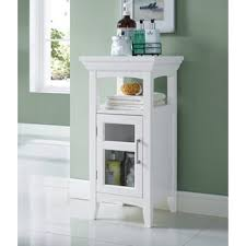 wyndenhall hayes floor storage cabinet in white free shipping