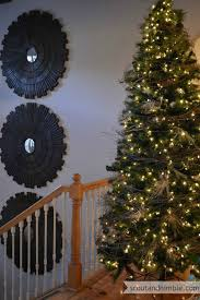 Decorating Grapevine Christmas Wreaths by The Easiest Tree Garland Ever