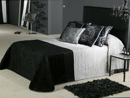 majestic black white and silver bedroom ideas on home design
