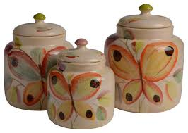 ninfa canister set contemporary kitchen canisters and jars