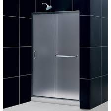 48 Inch Glass Shower Door Dreamline Infinity Z Frameless Sliding Shower Door 36 X 48 Inch