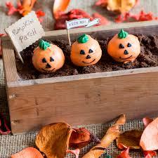 pumpkin halloween vanilla cake pops baking mad