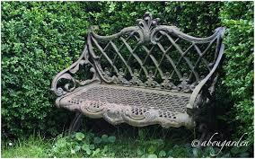 panchine da giardino in ghisa cast iron bench garden furniture
