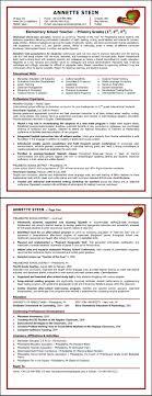 elementary resume template elementary resume sle cv resume