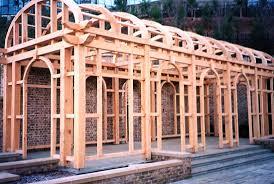 Oak Trellis Hearthstone Log And Timber Frame Homes Current Project Trellis