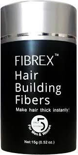 amazon com fibrex hair building thickening fibers loss concealer
