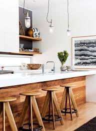 Island Bench Kitchen Designs by Cozinha Branca Com Madeira Minha Escolha Para A Pre Estreia De