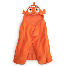 Bath Accessories Babies by Finding Nemo Hooded Towel For Baby Personalizable Bath
