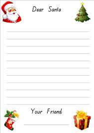 letter to santa template letter to santa kids letter santa