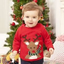 childrens babies toddlers knitted jumper pattern