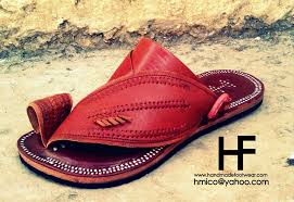 handmade leather sandals for men and women hmico pakistan