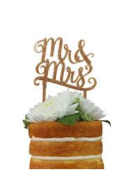 mrs and mrs cake topper db exclusive mr and mrs gold cake topper david s bridal