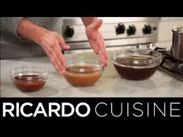 terme cuisine que signifie le terme réduire ricardo cuisine